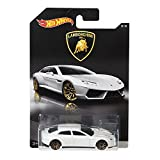 #9: Hot Wheels Lamborghini Toy Car - Estoque White