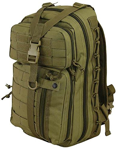 Kombat Delta Pack Rucksack Molle Back Pack Day 30 Ltr Airsoft Hiking Camping Coyote