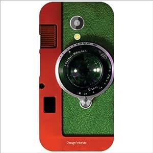 Design Worlds - Motorola Moto G (2nd Gen) Designer Back Cover Case - Multic...