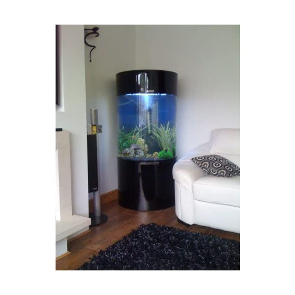 All Pond Solutions Column Cylinder Aquarium Fish Tank (JY-700-260L)