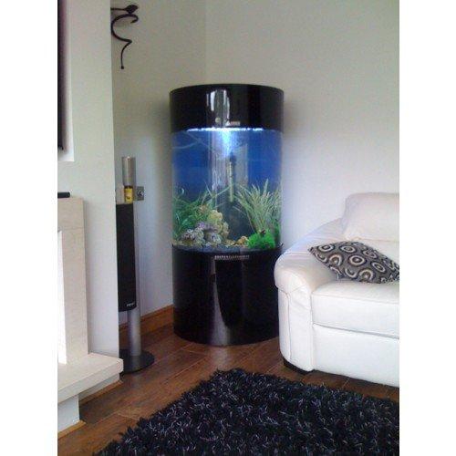 Spalte Zylinder Aquarium Fisch Tank - 2
