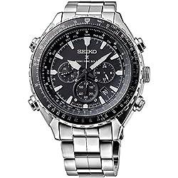 Seiko SSG001P1 Men's Watch Chronograph Quartz Stainless Steel