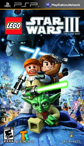 LEGO Star Wars III: The Clone Wars PSP US (Wars Lego Star Psp)