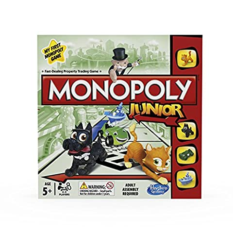 Hasbro Monopoly Junior Board