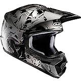 HJC CS-MX II Graffed Casco Motocross Integrale Motard Caschi Moto Cross Mc5Sf Nero XS (53-54cm)