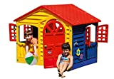 Childrens Indoor & Outdoor Summer Garden Happy House Kids Fun Playhouse