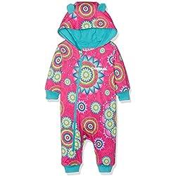 Desigual Body_Pili, Mono para Bebés, Rosa (FUCHSIA ROSE), 12-18 meses (Talla Del Fabricante: 74 (18)
