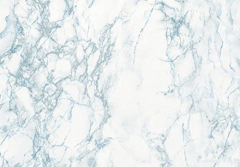 d-c-fix ® 346–en plastique (Film vinyle autocollant marbre) Cortes bleu 67,5cm x 2m 346–8028