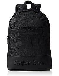 Calvin Klein BASTI4N + Backpack, Sac Homme, Noir (Black), 20x46x28 cm (b x h x t)