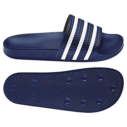 adidas Unisex-Erwachsene Adilette Dusch-& Badeschuhe Turchese (azul - azul)