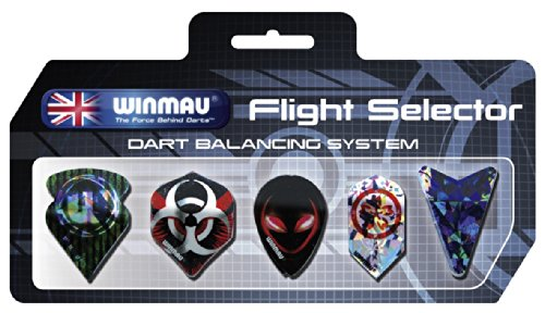 "Dart-Fly Winmau Fly-Display ""Flight Selector"""