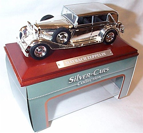 atlas-editions-silver-car-collection-chrome-plated-maybach-zeppelin-car-143-scale-diecast-model