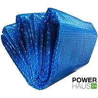 Power haus24–Telo solare per piscine rotonde fino a max. Ø 4,00m–180µm–PH24_ 2360052
