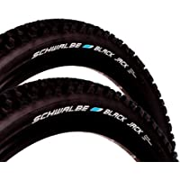 """2x Schwalbe Black Jack Fahrrad Reifen 26"""" 26 x 2,1 54-559 Kevlar Guard B227h"""