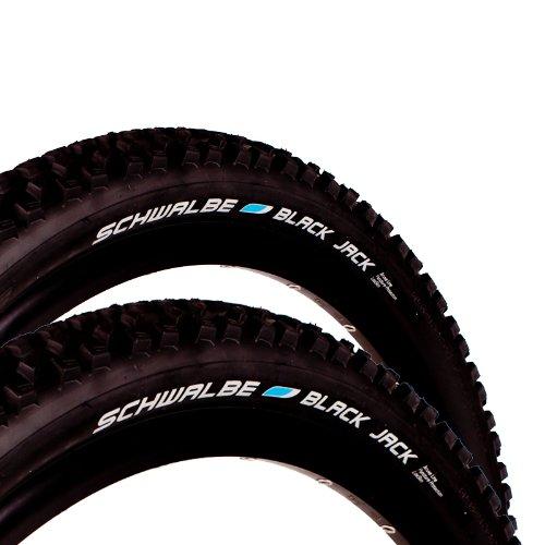 2x Schwalbe Black Jack Fahrrad Reifen 26