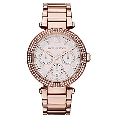 Michael Kors para Mujer-Reloj analógico de Cuarzo Chapado en Acero Inoxidable MK5781