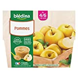 Blédina 4 Coupelles Pommes dès 4/6 mois