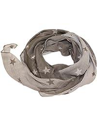 Seidenschal Seide Halstuch Schal Sterne Stars Farbverlauf Batik Cotton Tuch