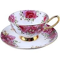 Osso Porcellana Ceramica Tazza Di Tè Tazza Di Caffè, Rosa,