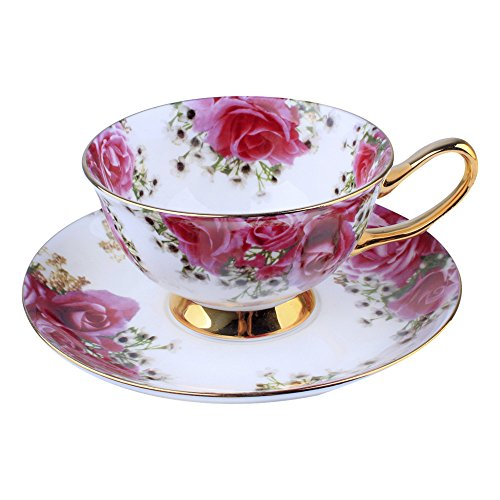bone-china-ceramic-tea-cup-coffee-cuprosewhite-and-red