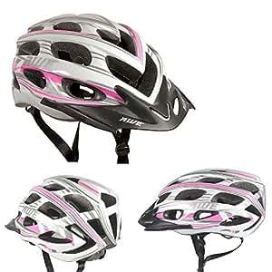 AWE® AeroStyleTM 24 Conduits Dans Moule Bicyclette Femme Casque 56-58cm