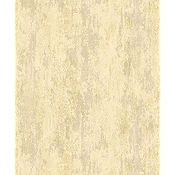 Crown Luxe Strato Parchment Wallpaper M1127