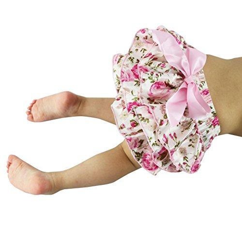 Wennikids - Bloomer - Bébé (fille) 0 à 24 mois Rose Rose Floral