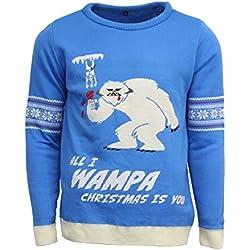Official Star Wars Wampa Christmas Jumper/Ugly Sweater - UK 2XL / US XL
