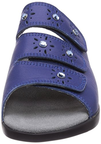 Gevavi - 3202 Bighorn Slipper Blau 36, Zoccolo da donna Blu (Blau  (blau (blauw) 04))