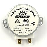 BESTOMZ TYJ50-8A7 AC 220V-240V 4 u/min 4W CW/CCW Mikrowelle drehbar Synchronmotor