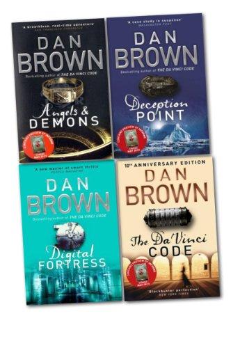 Vinci Da Code-serie (Robert Langdon Series Collection Dan Brown 4 Books Set (Deception Point, etc))