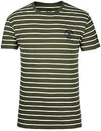 66° North logn Camiseta de Small Sailor––Camiseta para hombre, color Olive/White, tamaño small