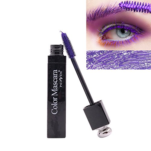 Colorful Mascara Bunt Wimperntusche Cosplay Augen Make-Up Kosmetika Langlebig, Anti-smudging,...