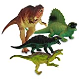 8 x HC-Handel 915696 Kunststoff Dinosaurier Dinos sortiert Plastiktiere 14 cm