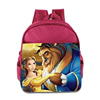 Beauty And The Beast Kids School Backpack Bag