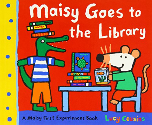 Maisy Mouse 10 books Collection: Maisy Goes to Nursery / Maisy Goes on Holiday / Maisy Goes to Hospital / Christmas Eve / Goes to the City / Goes on a Sleepover / Goes Camping / Goes to the Library /Charley and the Wobbly Tooth / Goes to the Museum