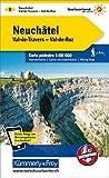 Neuchâtel Wanderkarte Nr. 8: Val-de-Travers, Val-de-Ruz 1:60000, waterproof, Freemap on Smartphone included (Kümmerly+Frey Wanderkarten)