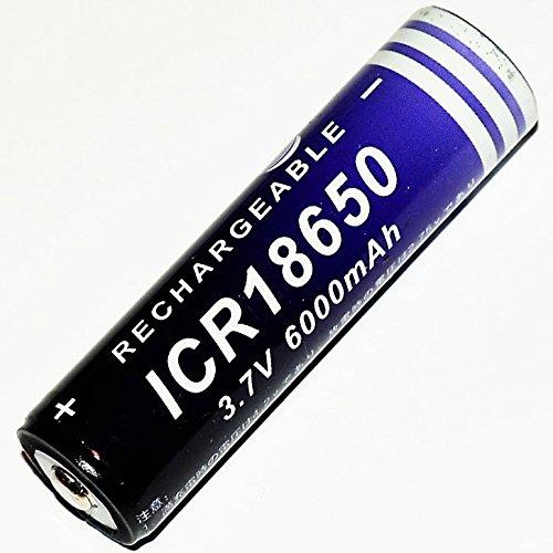 Lions Bay (NEXcell Li-ion Akku 3,7V 6000mAh BAY ICR 18650 Lithium accu Batterie Nachtangeln)