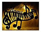 Klavier Wohnzimmer Schlafzimmer Deko Lampe