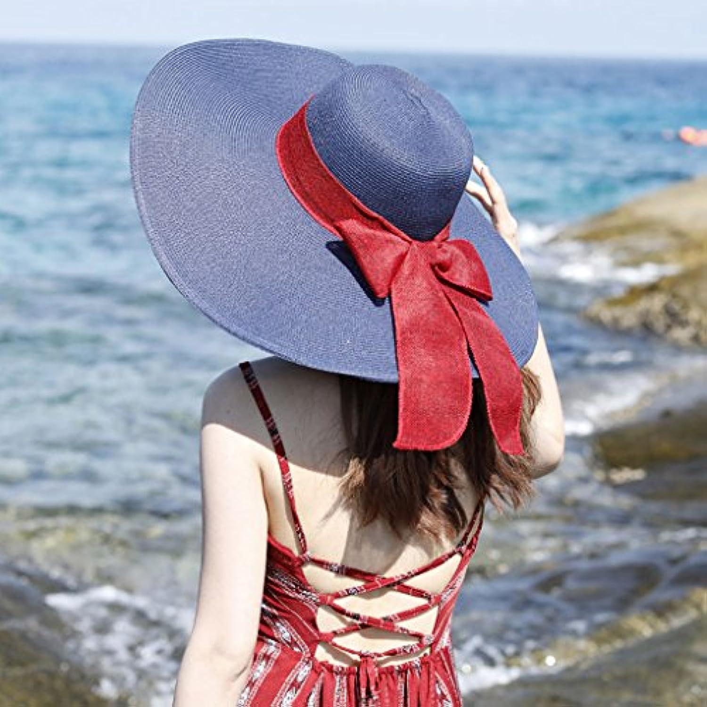 Parasole per la Spiaggia Pieghevole Parasole Femminile Estivo Femminile  Parasole Cappello a Tesa Larga Visiera per Vacanza Turismo... Parent 93d99c f866c91427da