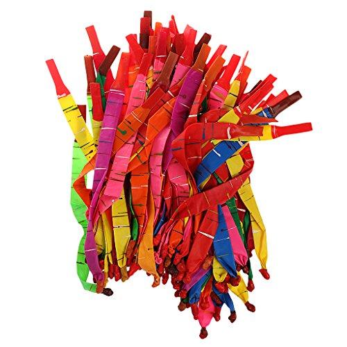 100pcs Latex Helium Ballons Folienballon Luftballon Hochzeit Geburtstagspartei Dekoration - - Raketen-luftballons