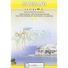 Gargano. Carta stradale 1 : 80.000