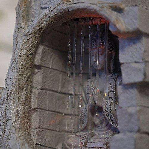Fuente de agua interior feng shui buda caida de agua 25 cm for Fuente agua interior