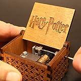 Premier Boîte à musique, 'Harry Potter' gravé en bois Boîte décorative meilleurs cadeaux de Noël
