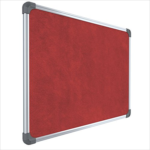 Pragati-Systems-Genius-Notice-Board-Pin-Up-Board-for-Home-Office-and-School-Lightweight-Aluminium-Frame-2x3-Feet