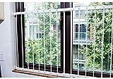 Säuglingskinderschutz Zaun Abnehmbare Sicherheits-Fensternetz Hochhaus-Fenster-Schacht-Fenster-Balkon-Sicherheits-Fenstergeländer, Druck-Berg (Farbe : Height 76cm, größe : 286-340cm)