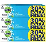 Dettol Cool crispy menthol Shaving Cream - 60 g+30% Extra free (Pack of 3)