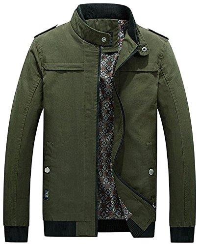 JZWXX - Blouson - Blouson - Homme UK1610 Green