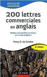 200 Lettres commerciales en anglais