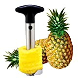 Kitchen Tool Fruit Pineapple Corer Slicer Peeler Cutter Parer Knife Stainless